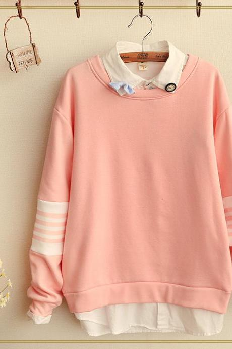 FREE SHIPPING Cute Pastel Color Sweater