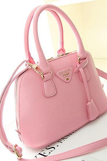 FAST SHIPPING New Women Fashion PU Leather Handbag Tote Bag